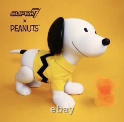 Super7 Sdcc 2019 Peanuts Snoopy & Charlie Brown Masque 16 Pinces D'art Vinylique