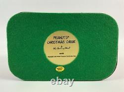 The Danbury Mint Christmas Cheer Charlie Brown Snoopy Christmas Figurine