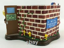 The Danbury Mint Youe A Class Act Charlie Brown Snoopy School Figurine