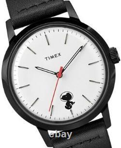 Timex Marlin Automatique Herrenuhr Charlie Brown Peanuts Snoopy Space Traveler Neu