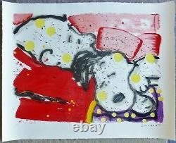 Tom Everhart Mellow Jello Snoopy Charlie Brown Peanuts Hand Signé Coa