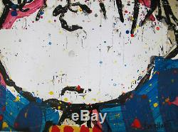 Tom Everhart Sleepyhead Signée À La Main Ltd Edition Lithograph Snoopy Brown Charlie