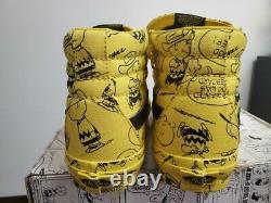Tout Neuf Dans Box Peanuts X Vans Snoopy Charlie Brown Sk8 Hi Size 7.5 Vn0a2xsbqx4