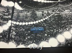 Un Charlie Brown Christmas Nicolas Delort Peanuts Snoopy Screen Print! 80 $
