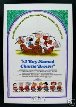 Un Garçon Nommé Charlie Brown Peanuts Snoopy Affiche Du Film