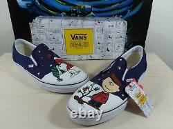 Vans Og Classic Slip On X Peanuts Charlie Brown Arbre De Noël