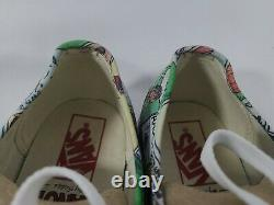 Vans Peanuts Chaussures Snoopy Comics Gang Charlie Brown Skate Taille M 6.5 W 8 Euc