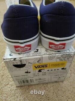Vans Rare Christmas Charlie Brown & Snoopy. New Boxed Cond Hommes Us 7,5 Ws 9 Boxed