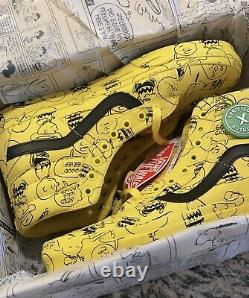 Vans Sk8-hi Peanuts Charlie Brown Snoopy Taille 10.5 Mint Gem Rare Limited Edition