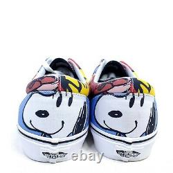 Vans X Peanuts Charlie Brown & The Gang Hommes 11 Chaussures Snoopy Era Skate Sneakers