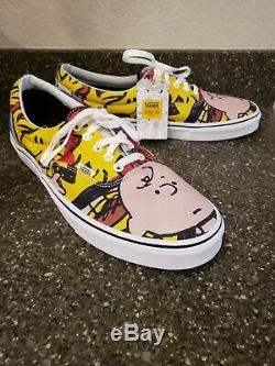 Vans X Peanuts Charlie Brown & The Gang Snoopy Taille Men 13