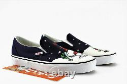 Vans X Peanuts Classic Slip On Charlie Brown Christmas Tree Chaussures Pour Hommes