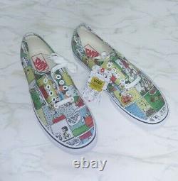 Vans X Peanuts Comics Mens Shoes (nouveau) Authentique Snoopy Charlie Brown