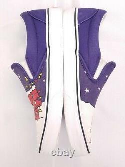 Vans X Peanuts Snoopy Charlie Brown Christmas Slip On Sneakers Hommes 10,5 Chaussures