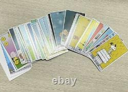 Very Rare Peanuts Tarot Deck 78 Cartes Oop Htf Charlie Brown, Snoopy, Lucy