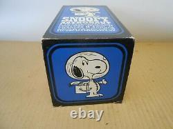 Vintage 1969 Astronaute Snoopy Iob Cacahuètes Charlie Jouet Brun