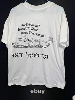 Vintage Grateful Dead Cosmic Charlie T Shirt Charlie Brown Snoopy XL Mr. T