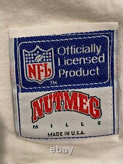 Vintage San Francisco 49ers Peanuts Charlie Brown Snoopy Shirt XL Nutmeg Milles