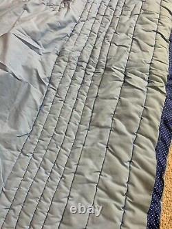 Vtg Set 2 Cacahuètes Snoopy Charlie Brown Couverture Lit Étalonner Comforter Twin